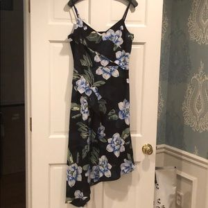 NWT banana republic floral print dress